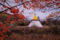 Picture of our tipis