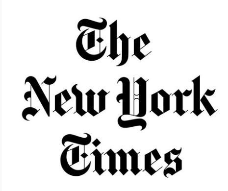 NY Times logo and link